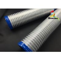 Hydroponic semi rigid aluminum flexible air duct for garden air ventilation Manufactures