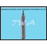 China Empty Medical Steel Gas Cylinder / Oxygen Tank Portable on sale