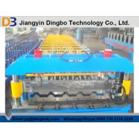 China Roofing Sheet Roll Forming Machine With Speed 10 - 15m / min For Construction Material on sale