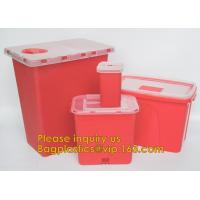Medical disposable sharp container,Best Selling 30 Liter Disposable Un3291