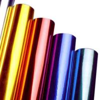 Multi Colors Hot Stamping Foil Rolls for Plastics Glass Metallic Products Manufactures