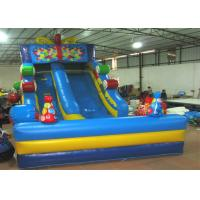 Top inflatable high gift boxes candy colourful inflatable dry standard slide on sale Manufactures