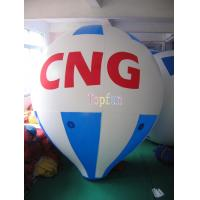 5m Long 0.18mm PVC Helium Inflatable Advertising Balloons With Custom Logo / Artwork Manufactures
