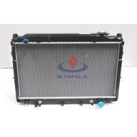 Aluminum Car cooling system toyota radiator 425 * 708 * 32 / 36 / 48 mm Manufactures