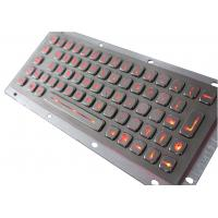 China Stainless Steel Backlit USB Keyboard on sale