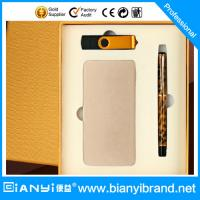 China Fashion Power Bank Charging gift set on sale