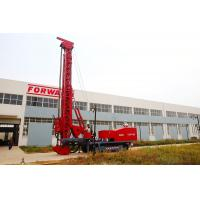 Red 243Kw Modified Multifunction Top Drive Drill Rig , Rotate Angle 0º- 90 º Manufactures
