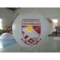 Digital printing business ad helium balloon with 0.18mm PVC for opening event Manufactures