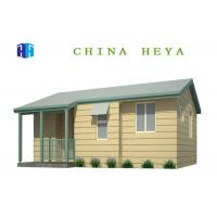 Light Steel Frame Modern Prefabricated Houses Alterable Layout Anti Wind Manufactures