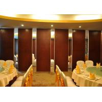Red Interior Decorative Partition Movable Office Partitions Manufactures