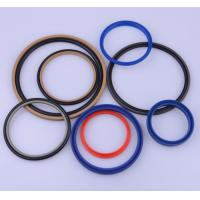 Industrial Grade White Silicone Rubber Washers Smooth Surface With RoHS Certificate Manufactures