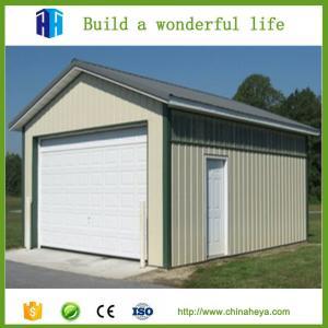 Storage building steel structure platform economic prefabricated houses Manufactures