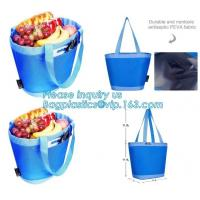 China promotional 16 cans insulated cooler tote bag outdoor picnic lunch freezable bag for camping beach travel bags, bagplast on sale