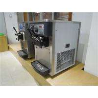 Quality Small Commercial Ice Cream Machine Table Top Twin Twist Flavor 20Liters/Hour for sale