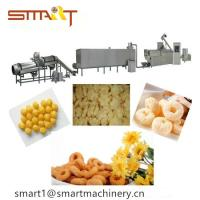 120-150kg / Hr Stainless Steel Puff Snack Machine For Food Processing Manufactures