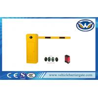 Double Compression Spring Intelligent Barrier Gate With 8m Straight Arm Manufactures
