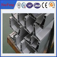 Aluminium hollow section extrusion profiles in china,aluminium window making materials Manufactures