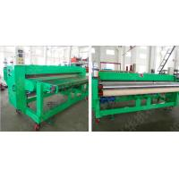 Optional Color Carpet Floor Tiles / Die Cutting Machine ±1.5 Mm Fixed Length