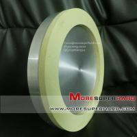China Vitrified diamond grinding wheel for machining PCD tools cup-shaped 6A2 200*25*10mm on sale