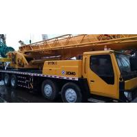 XCMG Brand Used Truck Crane Mobile 55 Ton Yellow Stretchable Arm Strong Engine Crane Manufactures