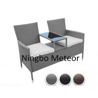 Buy cheap MTC-237 Outdoor rattan Bistro set,Patio KD furniture with tempered glass from wholesalers
