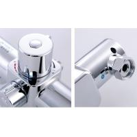Electric Shower Thermostatic Control Valve Metal Concealed Wall Mounted Switch Faucet for sale
