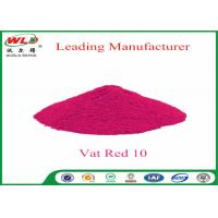 Textile Dyeing Chemicals C I Vat Red 10 Vat Red Fbb Good Water Diffusion Manufactures