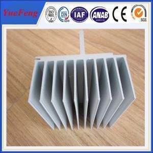 Anodic oxidation aluminum profile factory, industrial aluminum radiator profile manufactur Manufactures