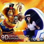 Rotation Platform Panoramic 9D Virtual Reality Simulator Mini Seats For Supermarket Manufactures
