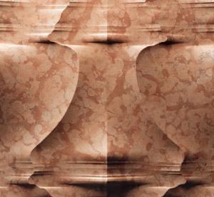 Natural Marble 3d roso verona sculptural wall art panel Manufactures