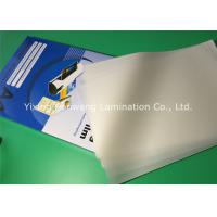 PET Laminating Film A4 4 Mil Plastic Laminated Pouches For Docuements Manufactures