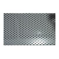 China Commercial Kitchen Wall Covering Perforated Metal Mesh Long Service Life on sale