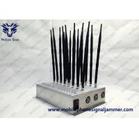 Desktop Indoor High Power 8 Bands Adjustable Customized GPS 3G 4G All Cell phone Signal Jammer Manufactures