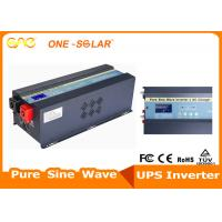 3KW 6KW 24 / 48V Stable Off Grid Solar Inverter Pure Sine Wave With Charger
