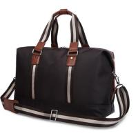 Personalized Luxury Travel Duffel Bags for Men with Leather Handles Manufactures