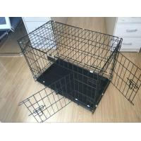 China 24, 30, 36, 42, 48 metal wire dog crate, dog cage, dog kennel(Whatsapp +86 13331359638) on sale