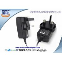 1.5m Cable UK 12V 1A Universal AC DC Power Adapter With CE / ROHS Certificated Manufactures