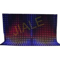 4x6m Rgb 3in1 Led Video Curtain Backdrop Decoration / Stage Fixture Manufactures