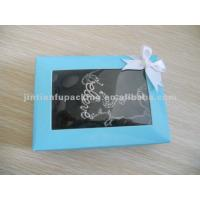 customized jewelry gift box with gold hot stamping Manufactures