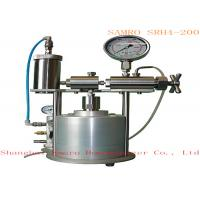 Compressed gas Drive mode Lab Homogenizer max pressure can be 2000 bar Manufactures