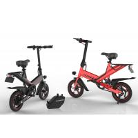 Brushless Motor 400W Portable Folding Electric Bike Lithium Battery Power Supply Manufactures