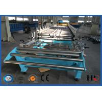 Color Coated Steel Roof Panel Forming Machine Large Span For Roof Sheet Making Manufactures