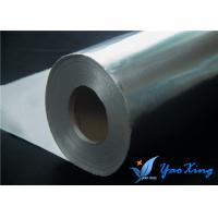 Sliver Aluminum Foil Fiberglass Cloth To Reflect Radiant Heat Away Manufactures