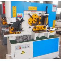 Q35Y Combined Hydraulic ironworker Machinery , Steel Hole Punch Machine