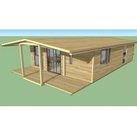 Strong Plasticity Custom Container House , Steel Frame Prefabricated Houses Manufactures