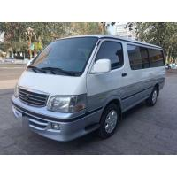 13 Seats Diesel Toyota Used Mini Bus With AC Equip No Accident 2015 Year Manufactures