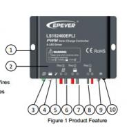 House IP68 10A Wind Solar Hybrid Controller With Built In Led Driver Manufactures