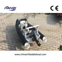 CE Approval FQB 580B PVC RIB Rigid Inflatable Boat With Motor For Fishing Manufactures