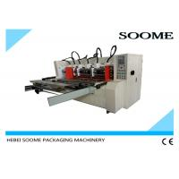 Automatic Slitter Scorer machine For Carton Creasing / Electrical Thin Blade Slitting Machine Manufactures