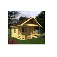 China Canadian Spruce Outdoor Wooden House , Wooden Chalet House For Accommodation on sale